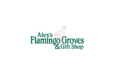 Alex's Flamingo Groves Logo